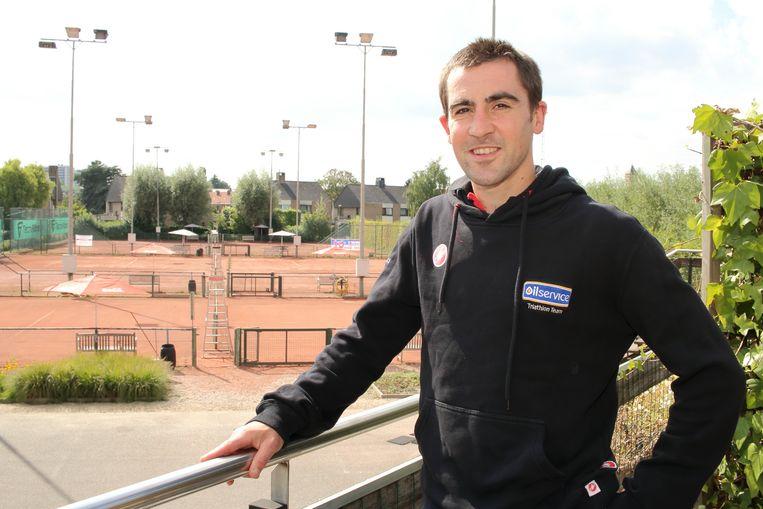 """""""De combinatie tussen het werk en de triatlonsport is zwaar"""", aldus Maarten Seghers."""