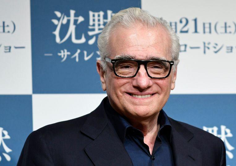 De Amerikaanse regisseur Martin Scorsese . Beeld EPA
