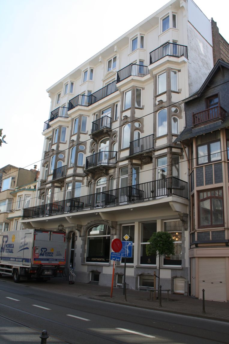 C-Hotels Continental in De Panne is open. Dit is de opvallende gevel