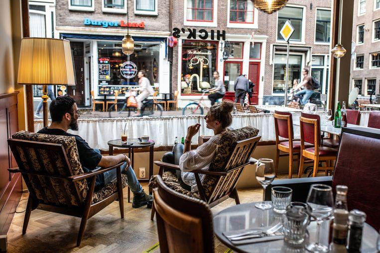 Hick's Diner, Haarlemmerstraat 65. Beeld Nosh Neneh
