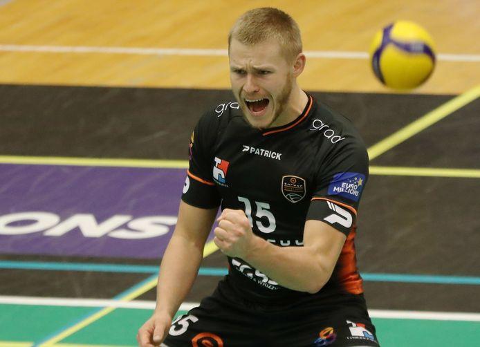 """Tobias Kjaer: """"Het niveau van de Belgische volleybalcompetitie ligt hoger dan in Denemarken."""""""