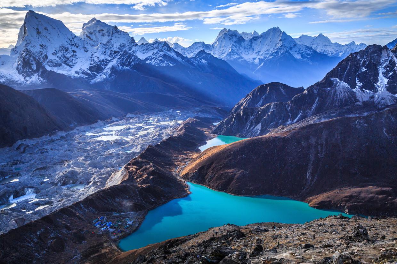 De Himalaya: jatte dit gebergte tot tweemaal toe het warme dekentje van de aarde? Beeld null