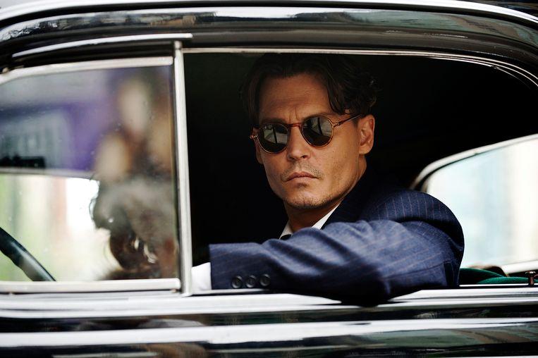 Johnny Depp als John Dillinger in Public Enemies (2009).  Beeld Peter Mountain / Universal Pictures