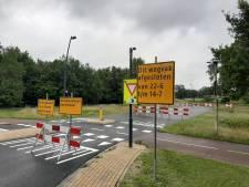 Baron van Sternbachlaan in Nijverdal langer dicht