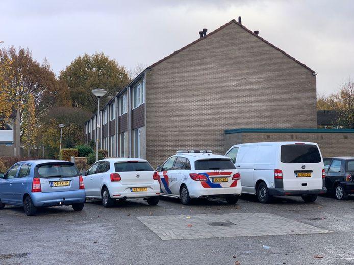 Politie in de Almelose wijk Schelfhorst