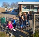 De huidige Petrus en Paulus School in Eerde. De school krijgt een plek in en naast de kerk.