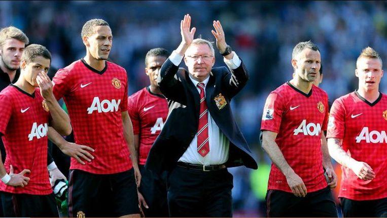 Alex Ferguson (centraal)