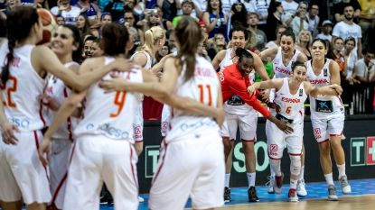 Spaanse vrouwen voor derde keer Europees kampioen