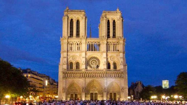 Beroemde Mensen In Parijs.Notre Dame Trekt Meeste Bezoekers In Parijs Buitenland Nieuws Hln