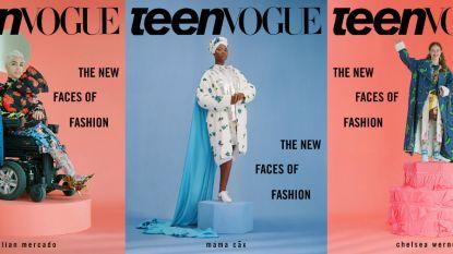 Modellen met een beperking sieren de cover van Teen Vogue