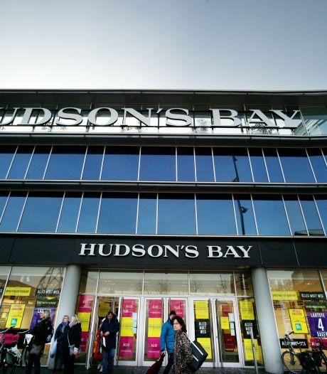 Hudson's Bay in Enschede is nu écht dicht