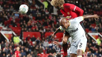 Sensatie in League Cup: scorende Fellaini lijkt ManU te redden, maar Derby County stunt toch na strafschoppen