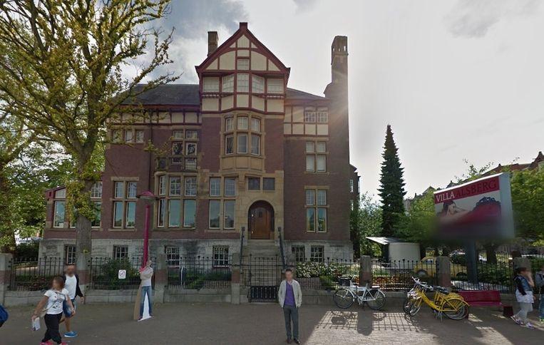 Villa Alsberg, de locatie van het nieuwe museum Beeld Google Streetview