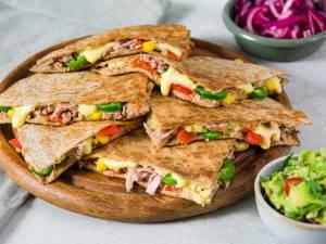 Wat Eten We Vandaag: Tuna melt quesadilla's met guacamole
