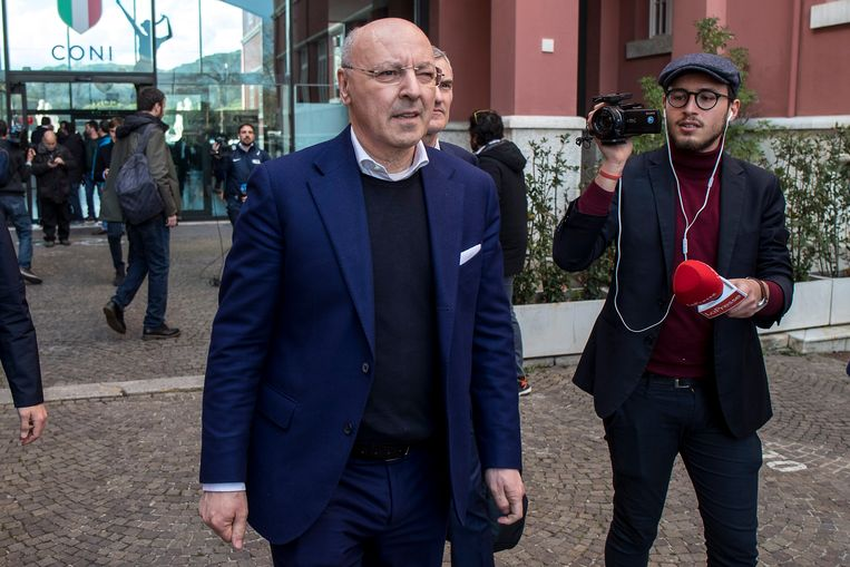 Giuseppe Marotta, CEO van Internazionale.