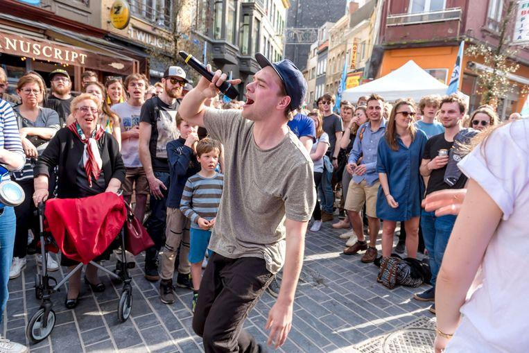 Vorig jaar was onder meer Brihang te gast in Oostende en dat zorgde voor een prima sfeer in de uitgaansbuurt.