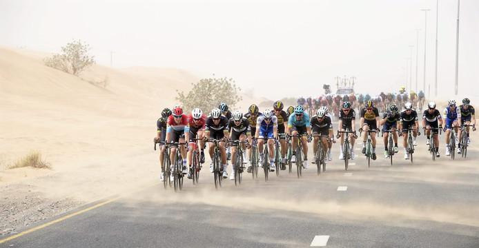 De Ronde van Dubai 2017.