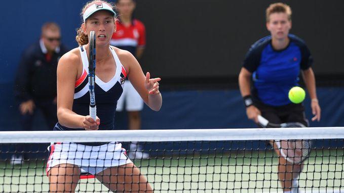 Elise Mertens heeft ticket voor tweede ronde op zak in China
