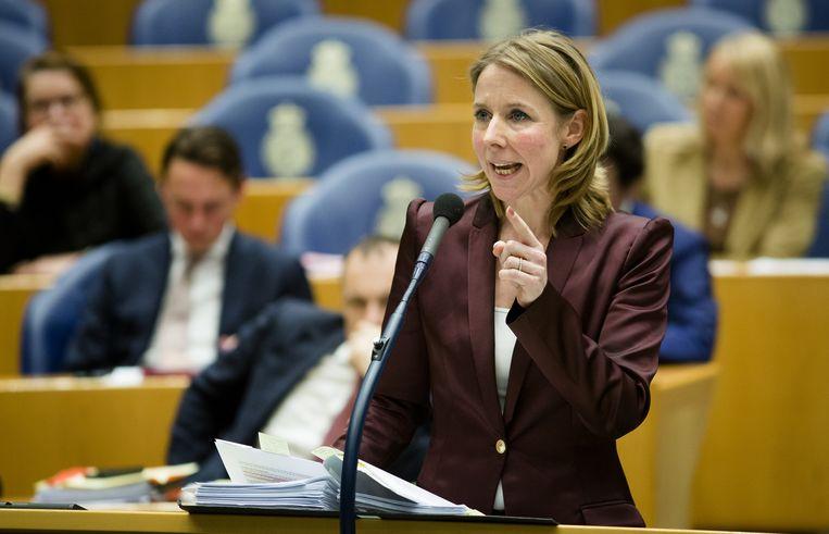 Kamerlid Van Veldhoven preludeert vast op de volgende formatie. Beeld null
