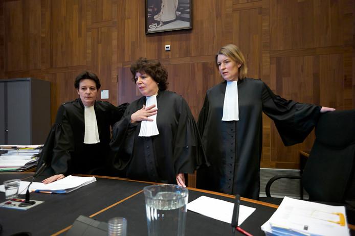 Rechtbanken: steeds minder zaken, maar wel complexer