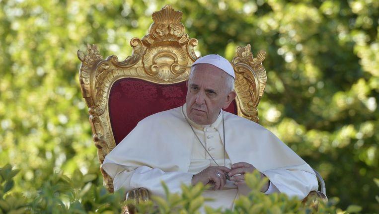 Paus Franciscus. Beeld belga