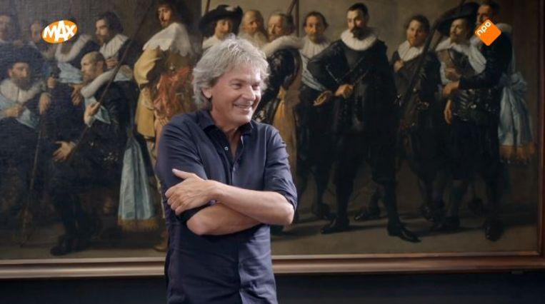 Matthijs van Nieuwkerk te gast in 'Sterren op het doek'. Beeld Omroep Max