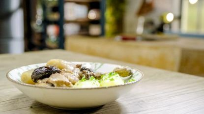 Vlaamse kost: Loïc maakt konijn met geuze