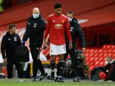 Rashford houdt blessure over aan duel met PSG