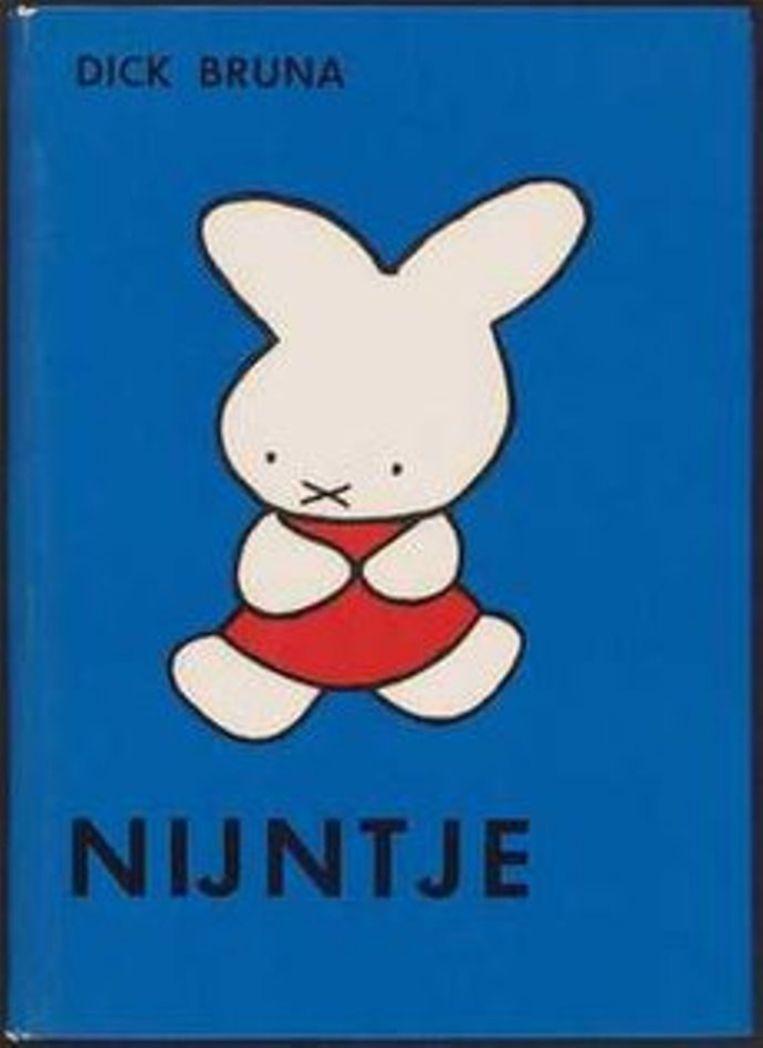 Het eerste Nijntjeboek. Beeld Dick Bruna