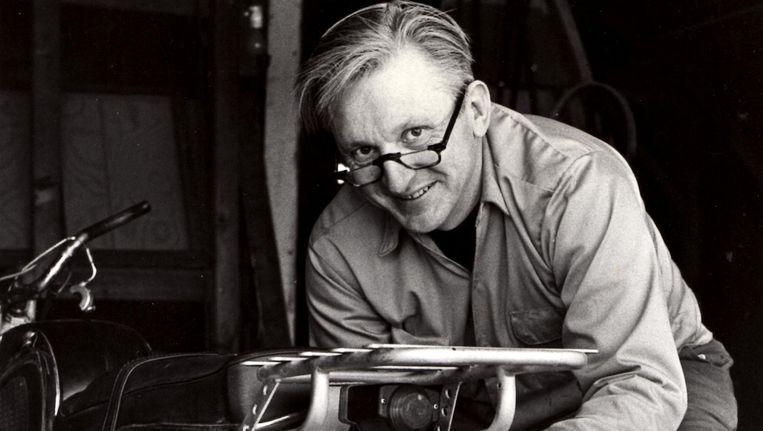 De schrijver Robert M. Pirsig in 1975. Beeld ap