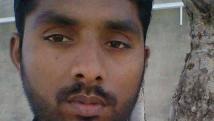 De ter dood veroordeelde Taimoor Raza (30).
