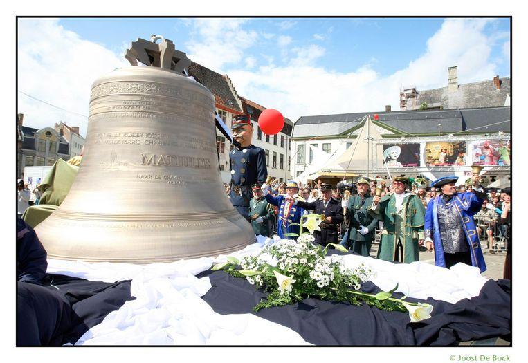 Tijdens de openingsstoet van de Gentse Feesten in 2008 werd de Mathildisklok symbolisch overhandigd aan de stad Gent.
