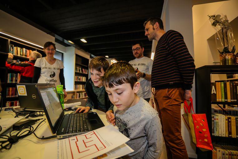 vernieuwde bibliotheek Eksel