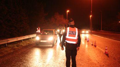 21 bestuurders rijden onder invloed tijdens controles