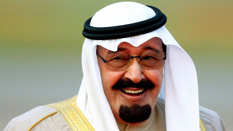 Archiefbeeld van de Saoedische koning Abdullah. Beeld REUTERS