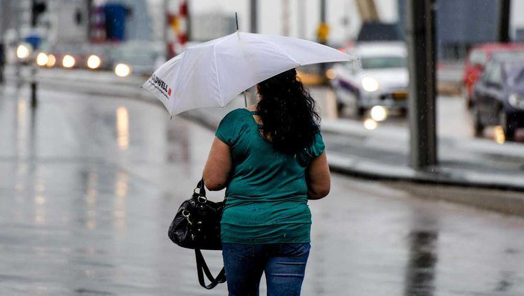 De kans op noodweer zoals eerder deze week is volgens het KNMI niet zo groot. Beeld anp