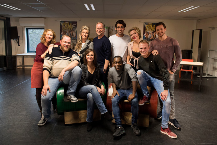 De cast van The Full Monty