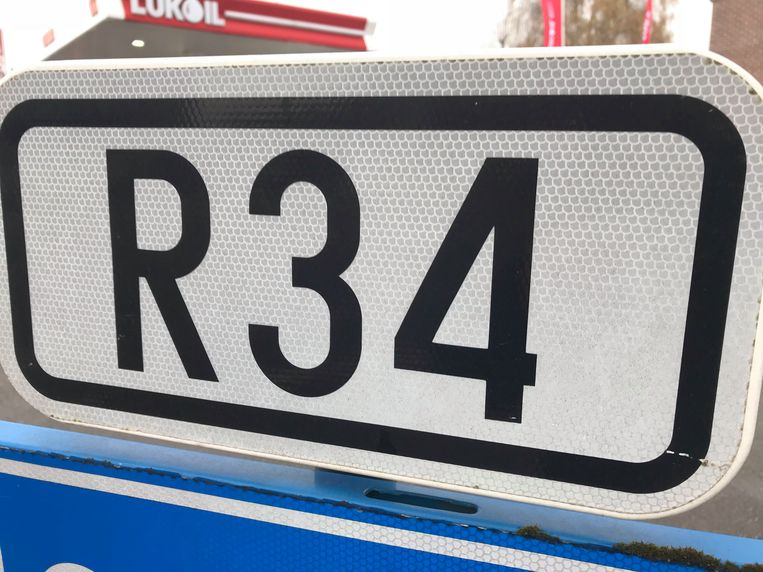 Het ongeval gebeurde langs de E34 in Torhout.