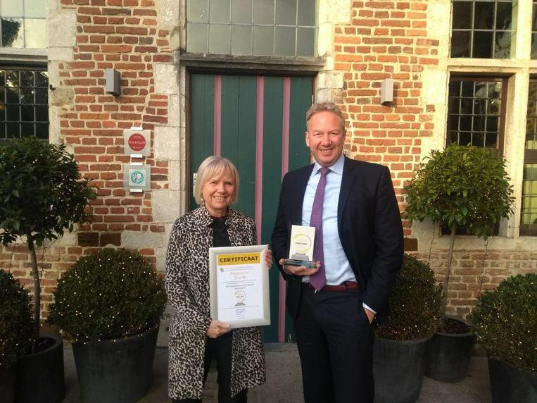 Faculty Club wint de zilveren award voor beste congreslocatie van België.