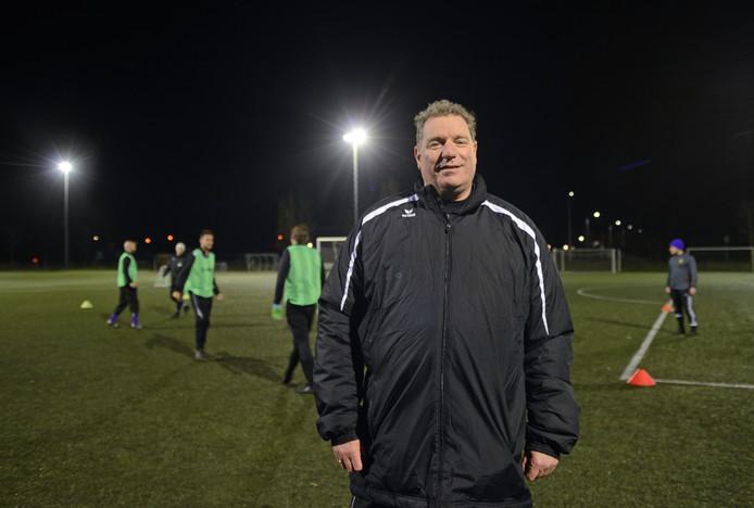 René Scholts is sinds het vertrek van Carlos de Jonge trainer van Bruse Boys.