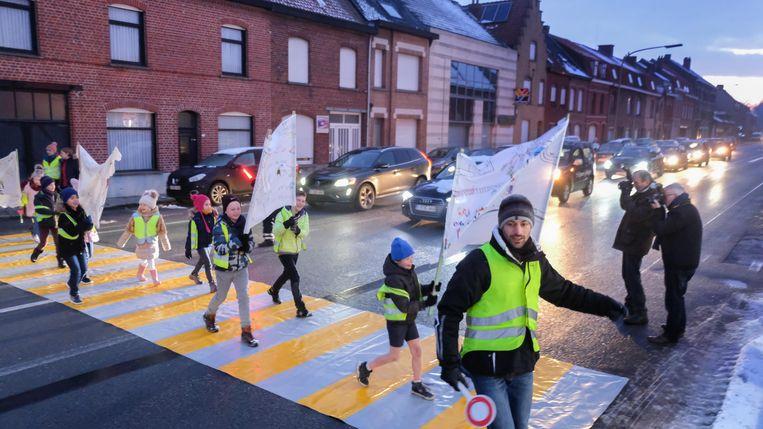Scholen die inspanningen leveren voor veiliger verkeer, kunnen rekenen op medailles van de Vlaamse Stichting Verkeerskunde.