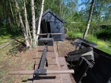 Rotte vloeren en een ingestorte remise: dubbel pech voor Veenmuseum in Vriezenveen