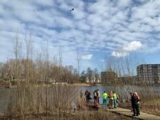 Politieheli en duikers zoeken na melding naar drenkeling in Den Bosch, maar vinden niets
