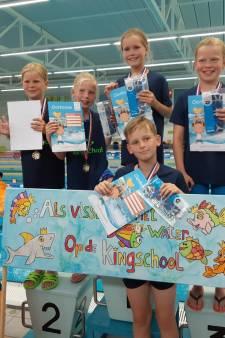 Kingschool Denekamp vierde bij NK zwemmen