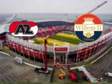 AZ bij winst op Willem II gedeeld koploper