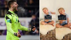 Nog een Rode Duivel met heuglijk nieuws: Anderlecht-doelman Van Crombrugge wordt opnieuw papa