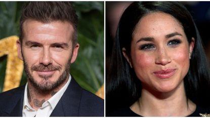 """Ook David Beckham zag Meghan wel zitten: """"Ze was onweerstaanbaar aangetrokken tot hem"""""""