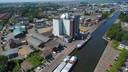 De silo van ABZ Diervoeding in Nijkerk
