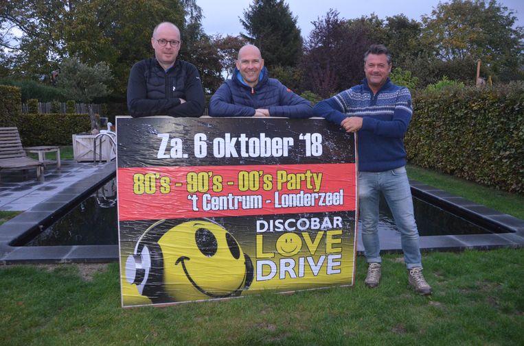 Discobar Lovedrive geeft er zaterdag weer een lap op in zaal 't Centrum.