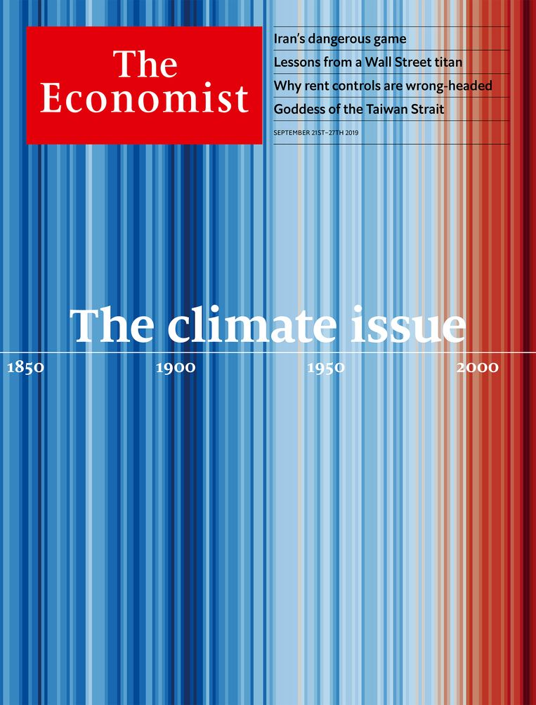 De cover van 21 september 2019. Beeld The Economist